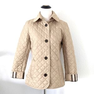 Burberry Brit Quilted Coat Small